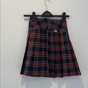Plaid Choupette Skirt